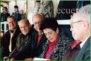 Cena Iriondo y esposas . 1997.