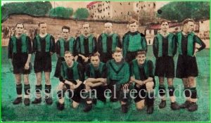 Sestao-Athletic. Las Llanas 1930-1931.