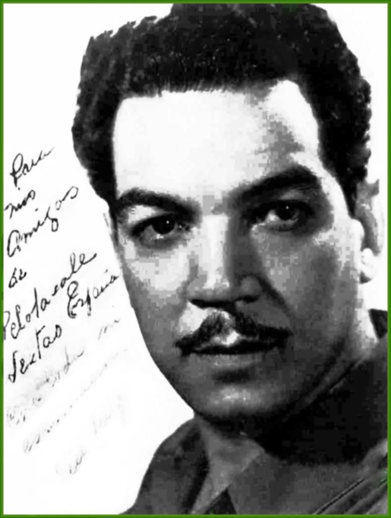 """Autógrafo de Mario Moreno """"Cantinflas"""" al Lagun Artea. - autc3b3grafo-de-mario-moreno-para-lagun-artea"""
