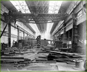 Taller AHV. Marzo de 1920.