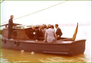 Gasolino de La Naval. Manolo de patrón. 1976.