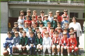 La Salle nacidos en el 80, foto de 1988