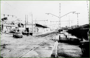 Paso estación Galindo. 1988. Miren López Loizaga.