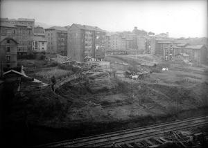 Trasera Txabarri. Años 50.