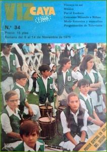 El Gaztetxuak  en las Llanas. 1975.