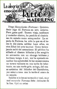 El ocaso de Fortuna. 1927.
