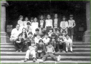 En Rebonza con Pedro Marqueta. Curso de de 4º de E.G.B. 198182. Mari Jose Gago Silva
