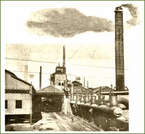 AHV. Bateria de calderas. 6-1902