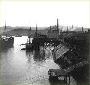 AHV desde la ría. 1919.