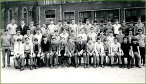 Aprendices de AHV. Último curso de eléctricos. 196768. Jose Ramon Magdaleno