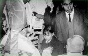 Confirmación en Santa María. 1966. Mari Nieves Domínguez