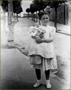 En Alameda las Llanas. Años 30. Edorta Pedrueza Antigüedad