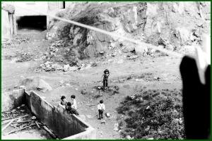 En la calle El Sol. Años 60. Palmi Fernandez Cabezas