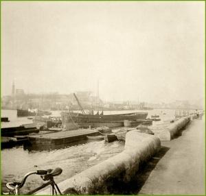 La Punta desde Erandio. 1910.