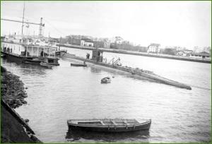 Submarino C-5. Años 30.