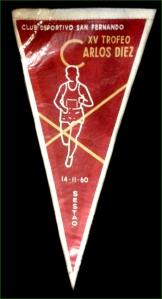 XV trofeo Carlos Diez Sestao 1960