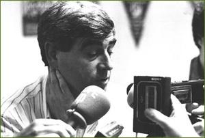 Blas Cianeta, entrenador del Sestao