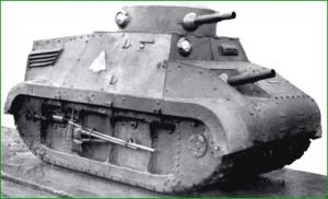 Carro Trubia. Fabricado en la Naval. Años 30.