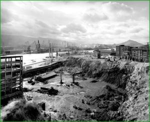 Panorámica desde Astrabudua. 1993. Gabriele Basilico (Milán,12 de agosto de 1944 - ibídem, 13 de febrero del 2013)