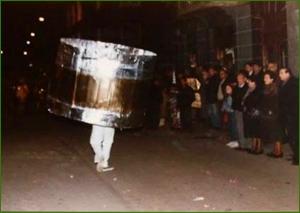 Carnavales 1990. Iciar Martinez