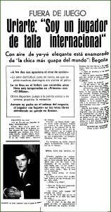 Fidel Uriarte. Julio 1968.