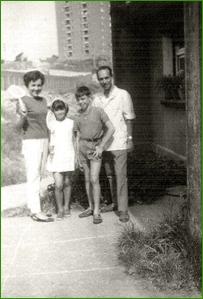 Foto de familia. 1965.Rosa Maria Álvarez.