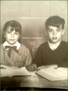 Foto escolar. Primo Rivera. Años 70. Dami JH.