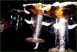 Segundo premio en el apartado de Grupos. Primero en el premio especial del Edur Mendi. Carnavales de 1985. Iciar Martinez