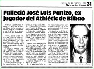 Veinticinco años sin Panizo.