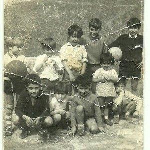 Amigos en Albiz. Años 1960.