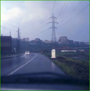 Avenida Adrian Celaya. Años 80.