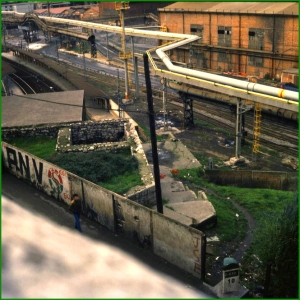 Estación de Urbinaga. Años 80.
