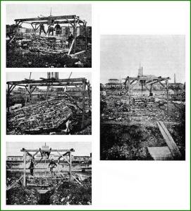 AHV. Pruebas de carga estática de pilotes de hormigón armado. Julio de 1926.