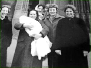 Bautizo en El Carmen. Febrero de 1962. Amaia Del Valle Sanchez