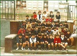 Colegio de La Salle. Curso 197475. Josu Bergara Lopez