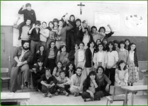 Colegio Rebonza. Curso 8ºA. 197980. Valentin Espinosa.