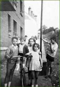 Amigos en El Carmen. 1967. Lucia Ortega