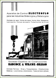 Babcock & Wilcox. Febrero de 1935.