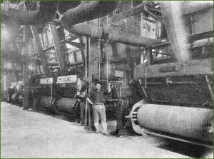 Babcock & Wilcox. Instalación de calderas de alta precisión para Hidroeléctrica Ibérica. 1930.