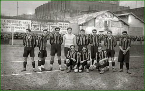 El Sestao Sport Club en Atotxa, 1927.
