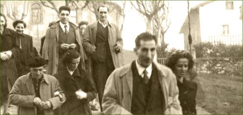 Escaleras de Santa María. Años 50. Jose Ramon Magdaleno