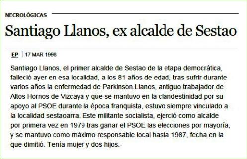 Santiago Llanos.
