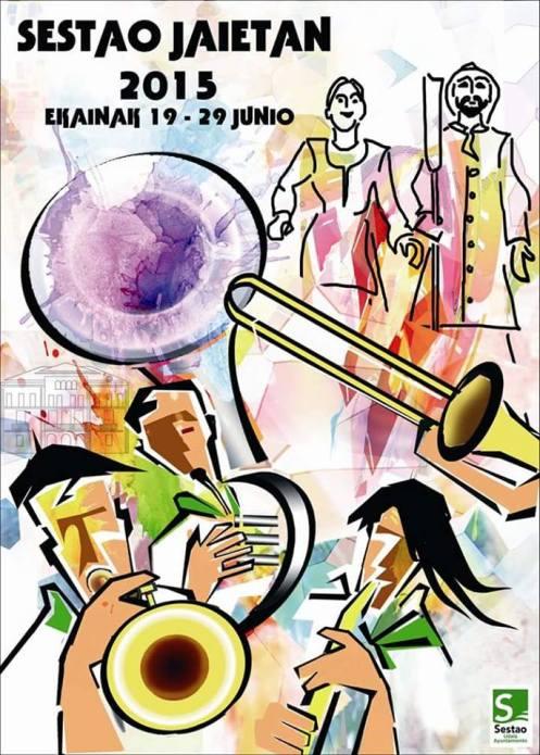 Cartel de fiestas 2015.