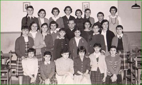 Colegio de La Anunciación (Amézaga) de Sestao. 1960.