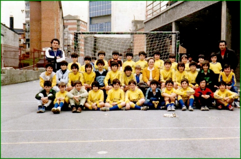 Colegio Las Llanas. Años 80.