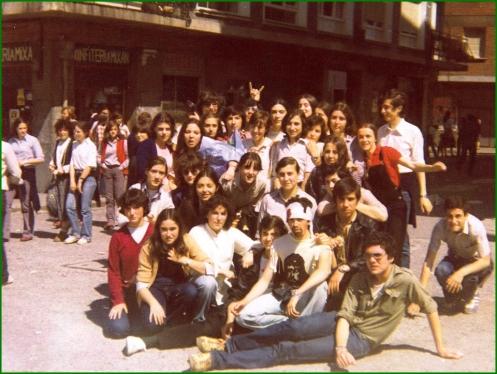 Curso del Instituto. 197980.