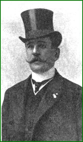 Pablo Alzola. Senador por Bizkaia, director gneral de Obras publicas y consejero de A.H.V, 1912.
