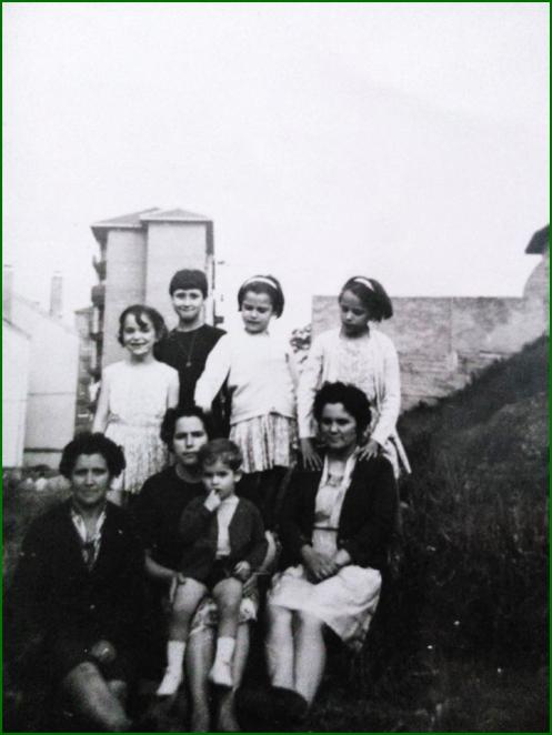 Vecinos en El Carmen. 1969. Lucia Ortega