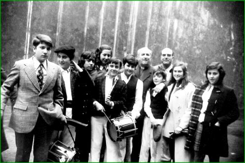 El Salleko en el Patronato. Años 70. Itxaso López Murua.