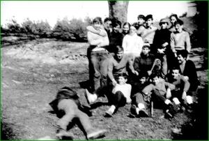 Salida del grupo de montaña del Patronato. Años 70. Itxaso López Murua.